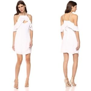 NEW Revolve Kaless Cold Shoulder Ruffle Dress